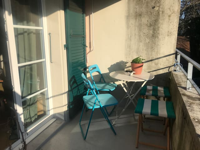 Appartment with balcony