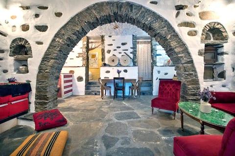 Aegean Village Life at Tripotamos Tinos Greece