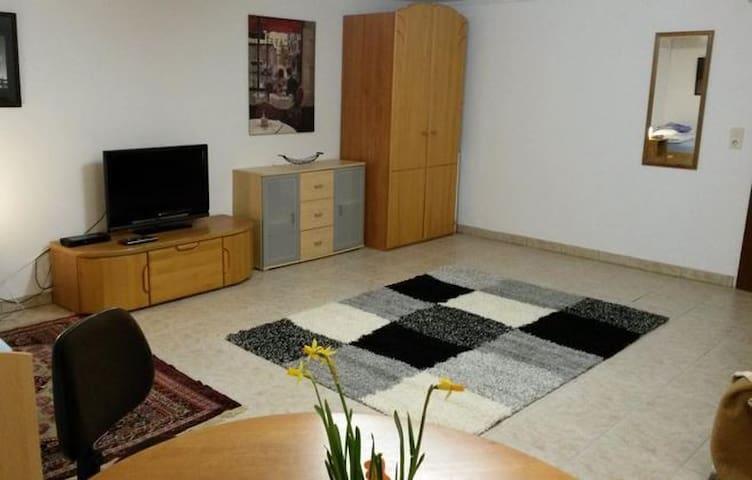 Zimmer mit TV - 10 Fahrminuten vom Westpark - Ingolstadt - Huoneisto