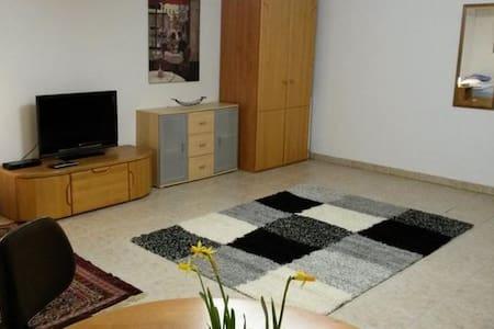Zimmer mit TV - 10 Fahrminuten vom Westpark - Ingolstadt - 公寓