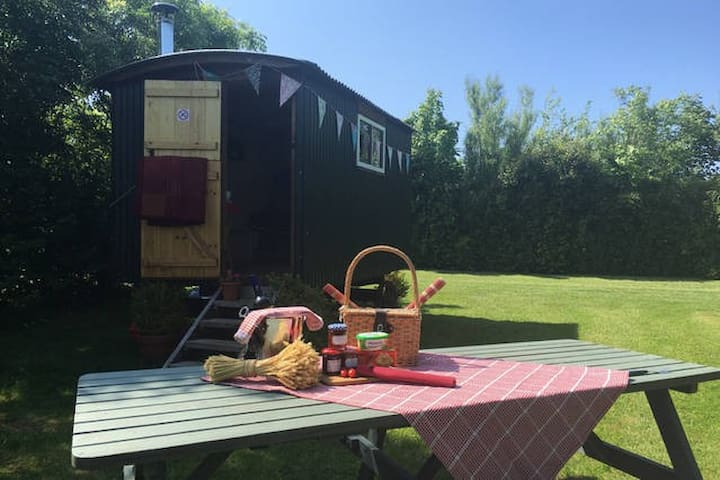 THE BOLT HOLE (SHEPHERDS HUT) - Swansea - Hut