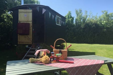 THE BOLT HOLE (SHEPHERDS HUT) - Swansea - Hütte