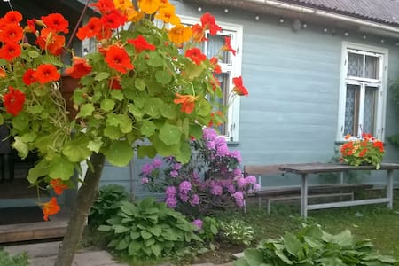 Townhouse near the sea. Garden place - Jūrmala