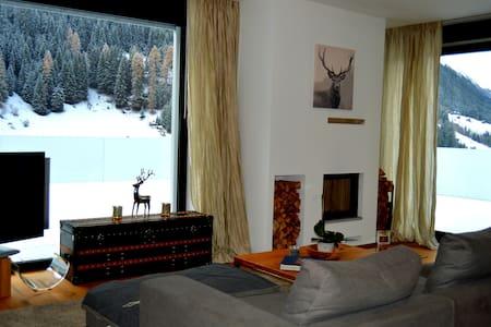 Luxury penthouse DRACULA+106m² terrace+300m² spa - Kappl