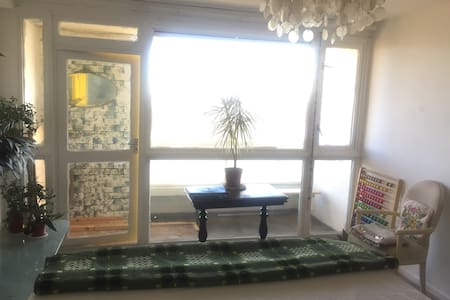 Beautiful daylight Two bedroom flat with Balcony
