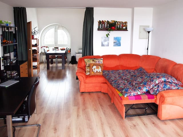 A spacious, sunny & cosy room in the Northwest MUC - Monachium - Apartament