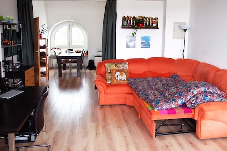 A spacious, sunny & cosy room in the Northwest MUC - Munich - Appartement