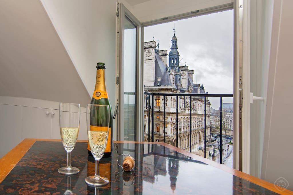 Appartement hotel de ville notre dame rivoli for Chambre d hotes rivoli