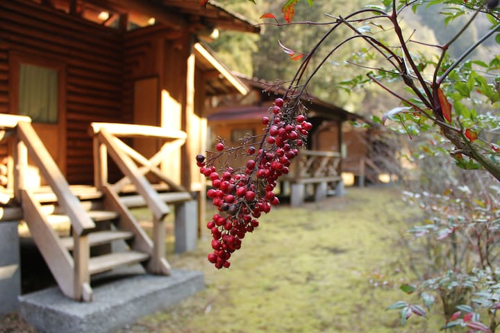 The most beautiful river in Japan. cottage for 2 - Nakatosa-chō - Bungalow