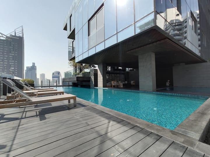 Bangkok&Pool&BTS Nana&MRT Sukhumvit&Max4ppl#10F74