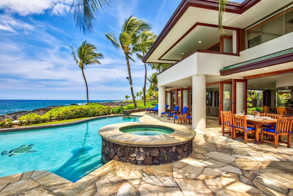 Ocean Front Pool with a View