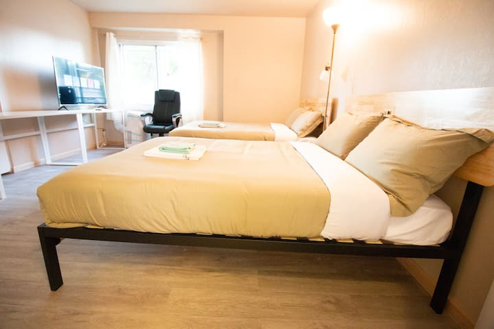 #A1 Master Bedroom with a private bathroom