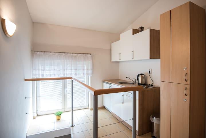 Dvouložnicový apartmán