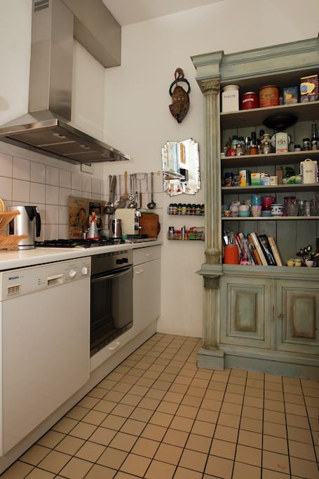 Kitchen with all necessary equipment