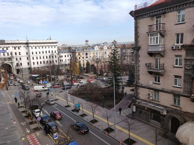 The apartment in the Kyiv center