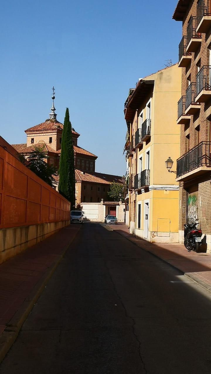 Estudio en el centro de Alcalá