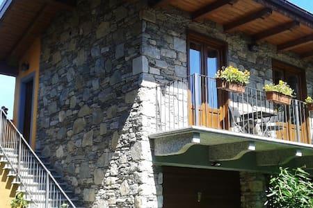 Cottage in pietra a Miasino, lago d'Orta - Miasino