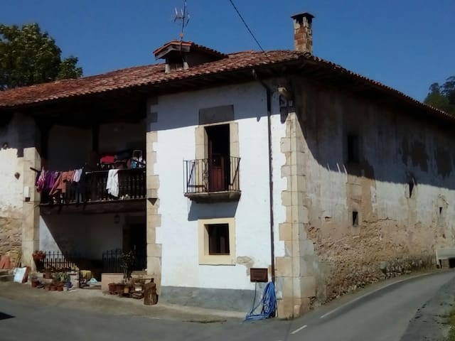 Double room in village house - Asturias - Huis