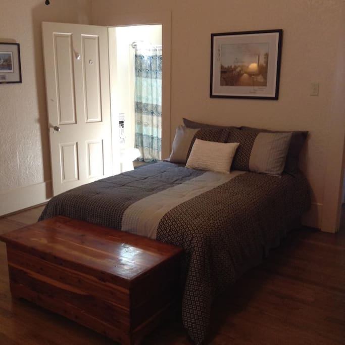 Optional bedroom on first floor