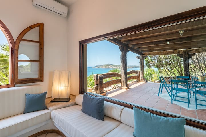 ☀️ Wonderful Villa on Tuerredda Beach
