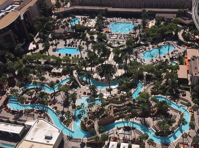 Signature MGM Pool View 1-Bedroom Penthouse Suite