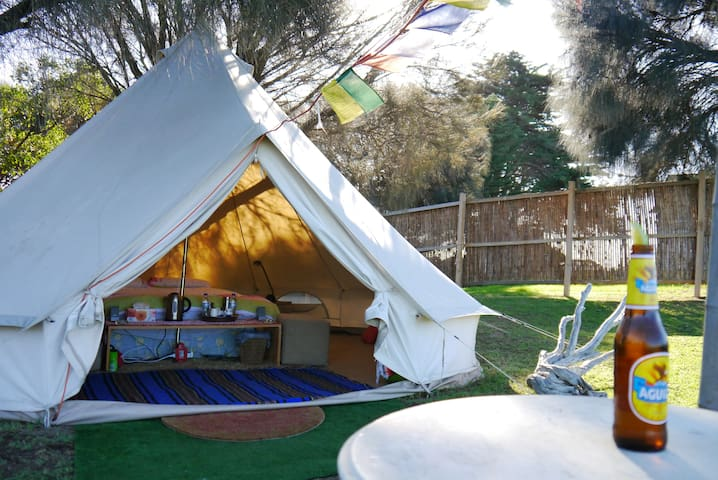Sheltered Glamping Phillip Island - 'Pyramid Rock' - Ventnor