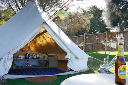 Glamping with a rural view - Tent