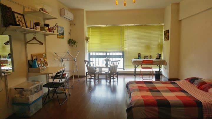 【夜景必去地】南滨路上,喜来登soho公寓的整套房,家人朋友般的帮助,以及将心比心,干干净净。