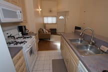 Kitchen with island and dishwasher