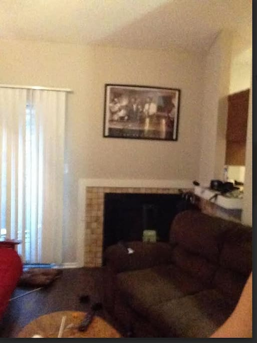 2 full size couches in living area