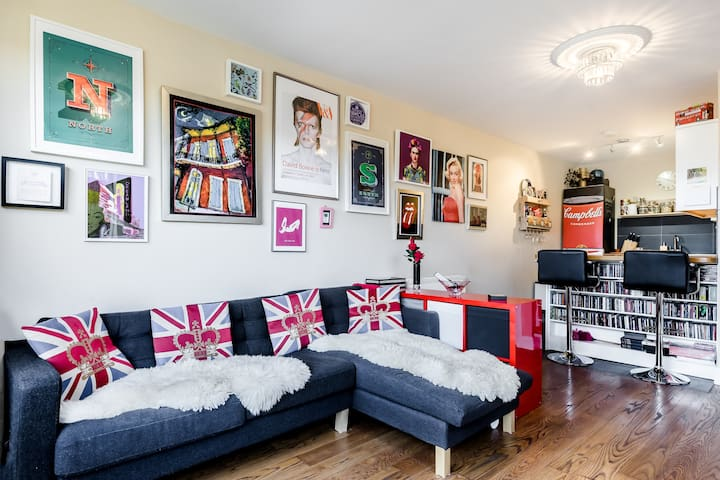 2 bed flat with roof terrace, - London - Apartment