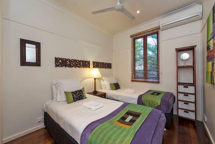 2 king single beds