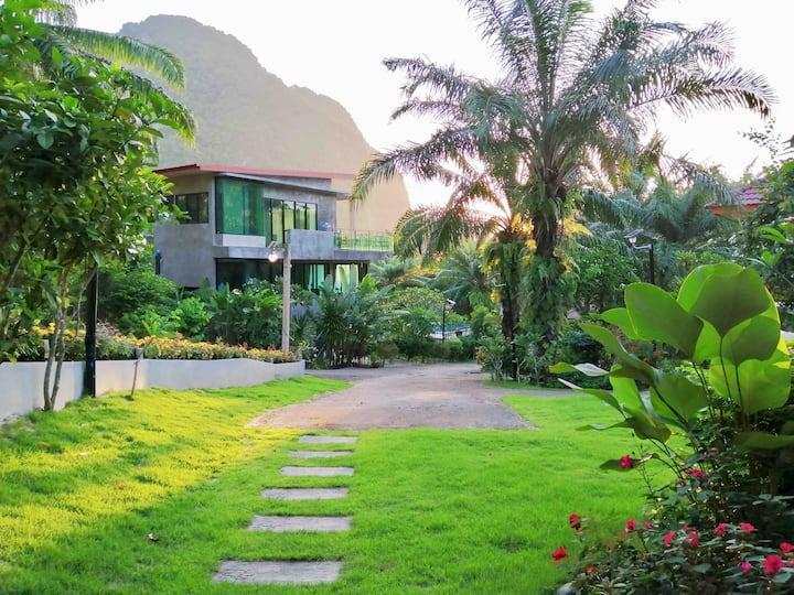 Krabi Green Hill Pool Villas06 #4BR Shared Pool