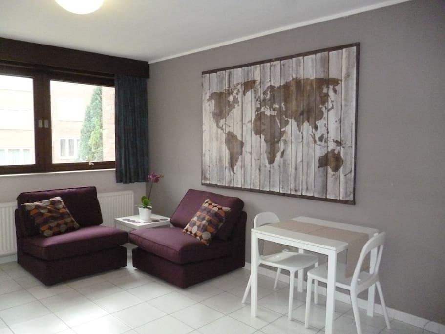 flat lipsius expo heizel uzvub appartements louer wemmel vlaanderen belgique. Black Bedroom Furniture Sets. Home Design Ideas