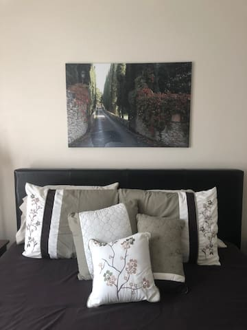 Cozy room with villa charm