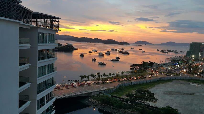 Imago Sea-View 3 Room Luxurious Apartment Yap AB2
