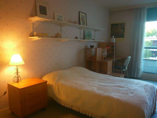 grande chambre lumineuse, cuisine equipée partagée - Pessac - Leilighet