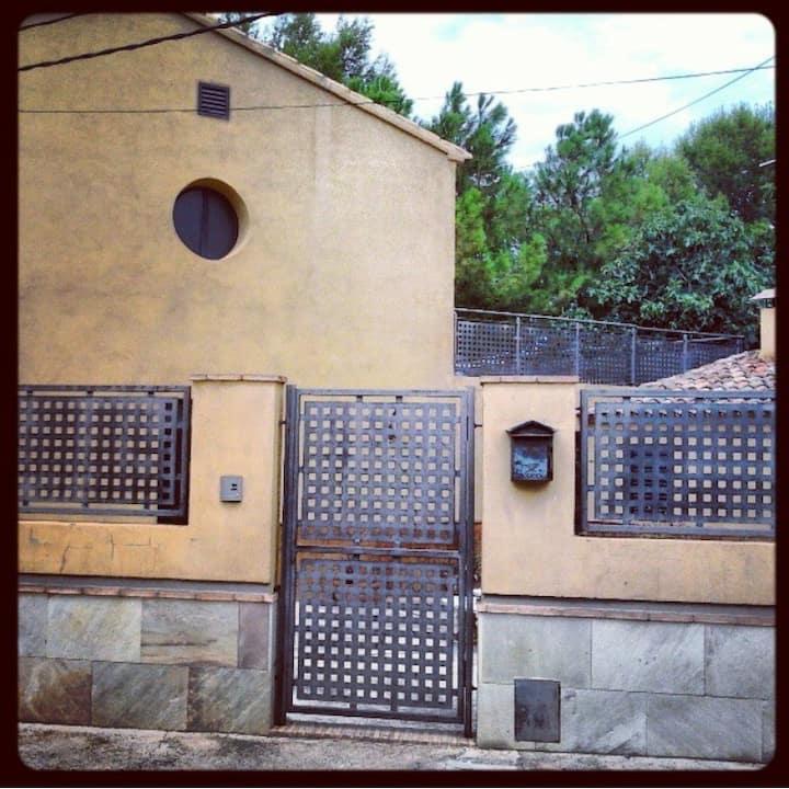 Una casa con vistas en Chella