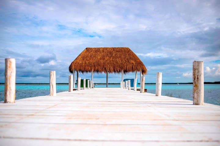 RPB Gorgeous Cabin near to Bacalar Lagoon