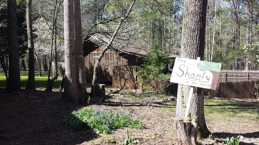 Shanty in the Woods Rustic Studio Apartment