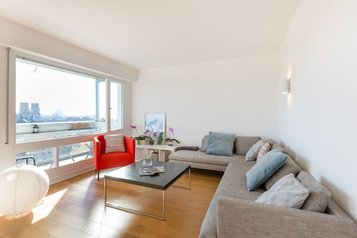 TREGOR - Flat 80m2 - 2 BR - Parking + View - Rennes - Appartement