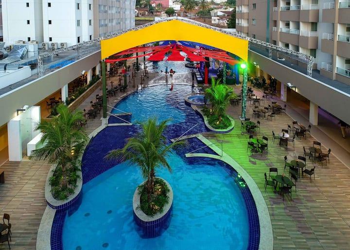 Olimpia Park Resort - Apartamento para 6 pessoas