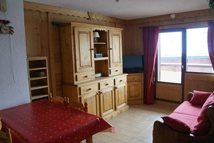 MA127 - 2 Pièces 4 Pers centre Carroz