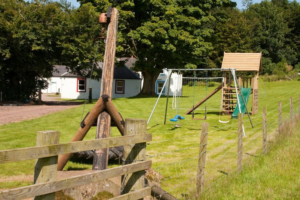 The play area (if you are coming with kids)