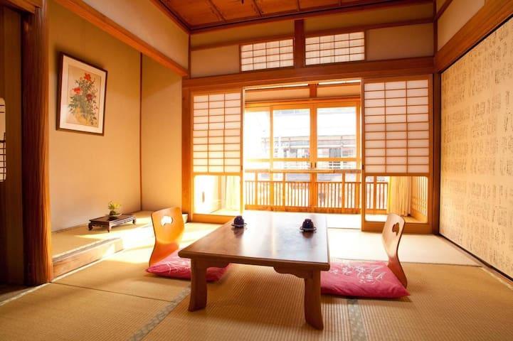 NARA/DOROGAWA ONSEN★Hot springs and hospitality with Breakfast【6畳・2名様/朝食付】