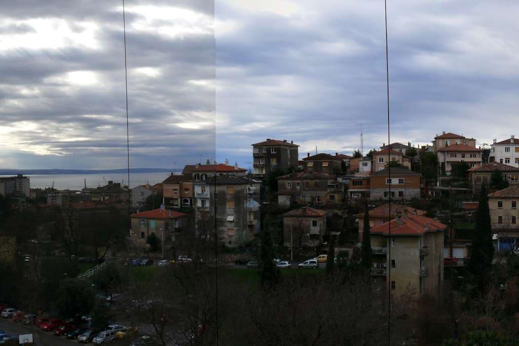 Balkon-pogled / Balcony view