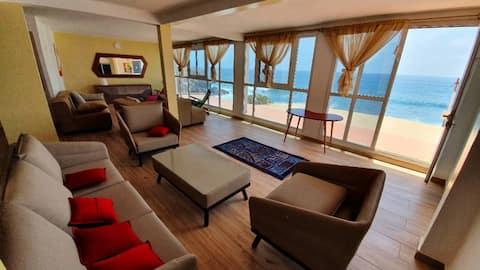 Maison chaleureuse avec piscine sur l'île de Ngor