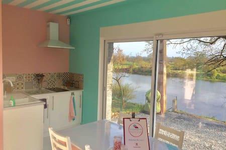 La Guinguette - Gîte en Bord de Loire 🎣 le PAL🦁🎢🎡🦒