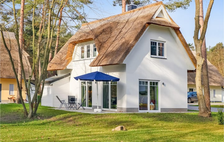 Beautiful home in ZirchowithUsedom with Sauna and 2 Bedrooms