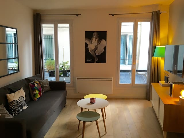 Le Frenchy - 2 rooms - Cosy - Paris - Apartemen